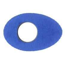 Bluestar Fleece Eyepiece Cushions - Oval Long (Blue)