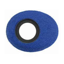 Bluestar Fleece Eyepiece Cushions - Oval Large (Blue)