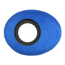 Bluestar Ultrasuede Eyepiece Cushions - Oval Small (Blue)