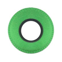 Bluestar Ultrasuede Eyepiece Cushions - Round Large (Green)