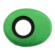 Bluestar Ultrasuede Eyepiece Cushions - Oval Large (Green)