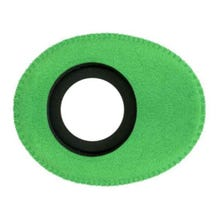 Bluestar Ultrasuede Eyepiece Cushions - Oval Small (Green)