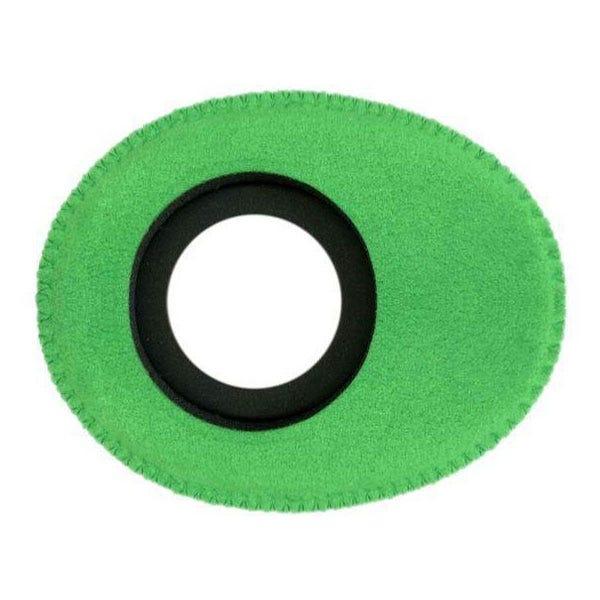 Bluestar Ultrasuede Eyepiece Cushions - Oval Small (Green)