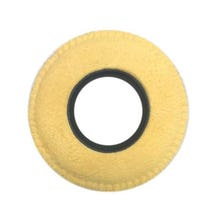 Bluestar Chamois Leather Eyepiece Cushions - Round Large (Natural)
