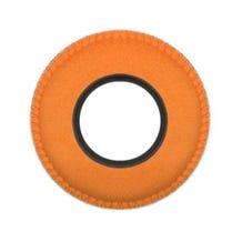 Bluestar Ultrasuede Eyepiece Cushions - Round Large (Orange)