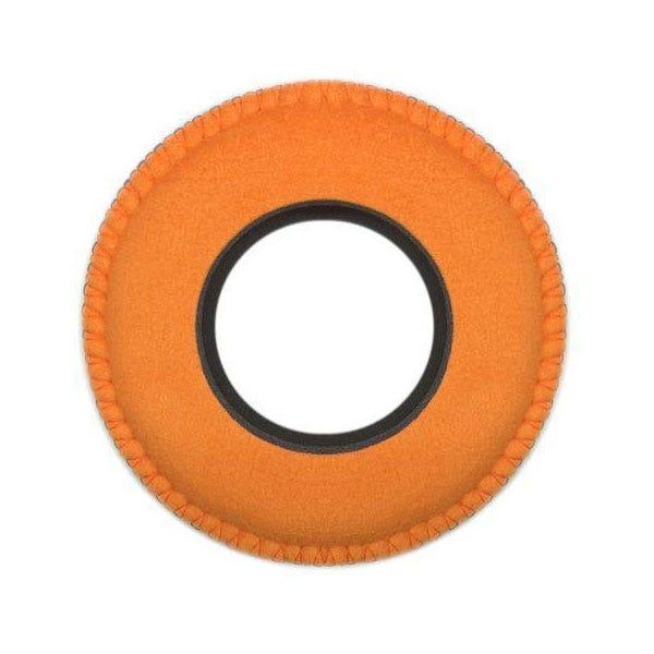 Bluestar Ultrasuede Eyepiece Cushions - Round Large (Orange)
