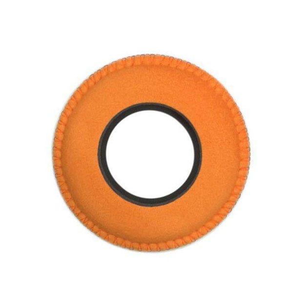 Bluestar Ultrasuede Eyepiece Cushions - Round Small (Orange)