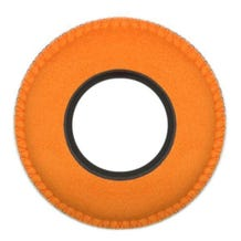 Bluestar Ultrasuede Eyepiece Cushions - Round XL (Orange)