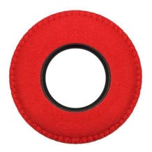 Bluestar Ultrasuede Eyepiece Cushions - Round XL (Red)