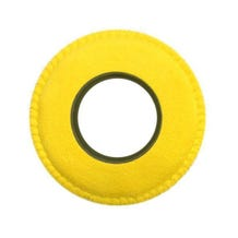 Bluestar Ultrasuede Eyepiece Cushions - Round Large (Yellow)
