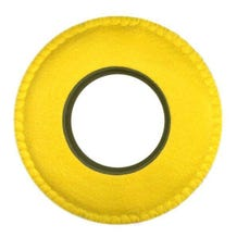 Bluestar Ultrasuede Eyepiece Cushions - Round XL (Yellow)