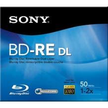Sony ReWritable Blu-ray - 2X - 50GB - Dual Layer - Branded - Jewel Case - 1pc