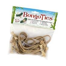 BongoTies Cable Ties - Natural, 10 Pack