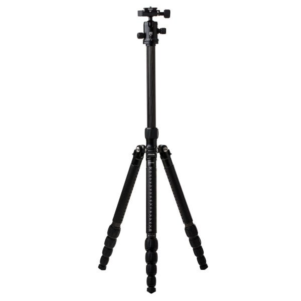 MeFoto RoadTrip Leather Aluminum Travel Tripod - Black