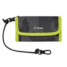 Tenba Reload SD 9 Card Wallet (Camouflage/Lime)