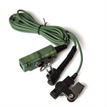 TenFour DIRECTOR-M1 2-Wire Surveillance Transceiver Headset for Motorola Radios - Camouflage