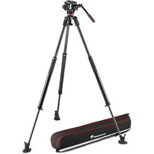 Manfrotto 504X Fluid Video Head with 635 Carbon Fiber Tripod