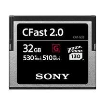 Sony CFast 2.0 G Series Memory Card (Various Memory Capacity)