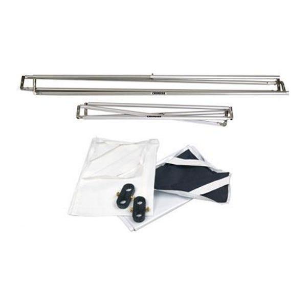 "Chimera Pro Panel Fabric Kit - 48x48"" Aluminum Frame, 1/2 Diffusion, Black/White Panels, Duffle Case"