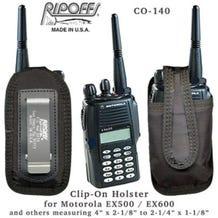 Ripoffs CO-140A Clip-On Holster for Motorola Radio EX600