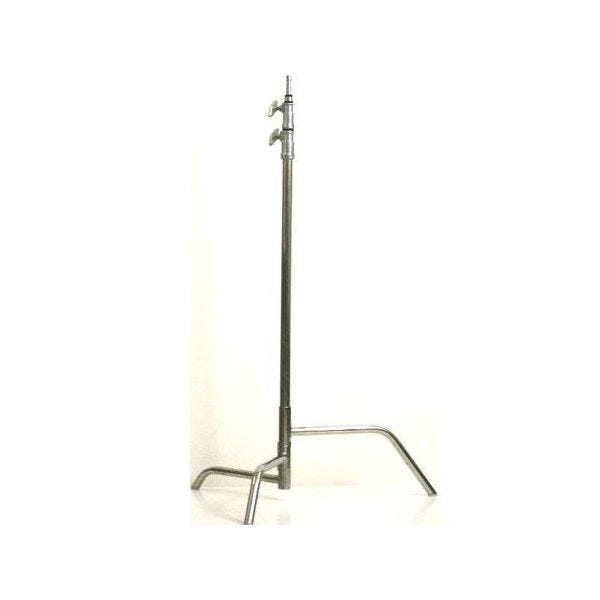 "American Grip 40"" Chrome C-Stand with Spring Loaded Base"