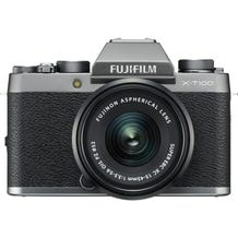 FUJIFILM X-T100 Mirrorless Digital Camera with 15-45mm Lens - Dark Silver