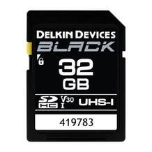 Delkin Devices BLACK UHS-I (U3/V30) SDXC Memory Card (Various)