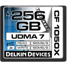Delkin CF 1050X 256GB  Memory Card