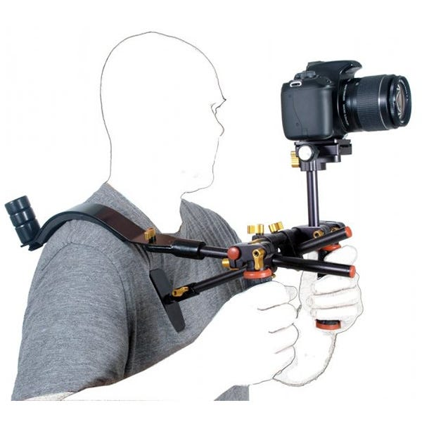 DLC Dbl Handle Rig w/ Shoulder Pad