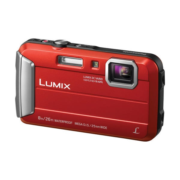 Panasonic Lumix DMC-TS30 Digital Camera - Red