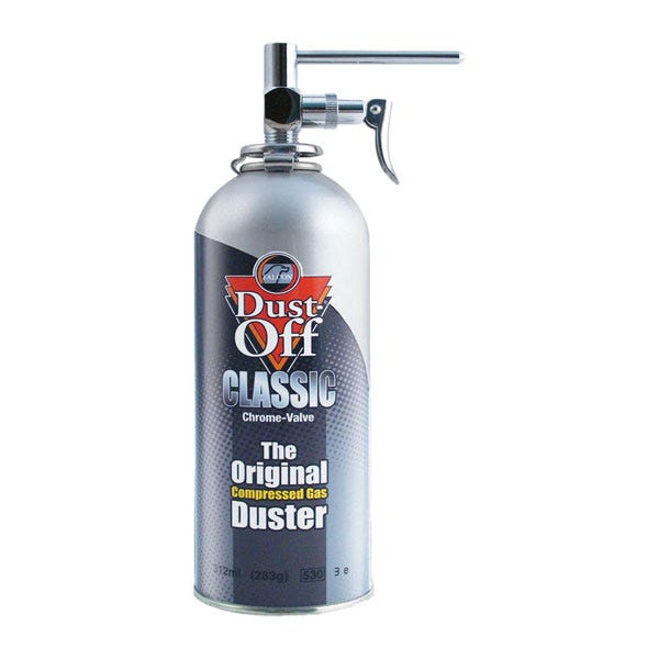 Falcon Dust-Off Kit with Chrome Nozzle - 10 oz (Ground Only)