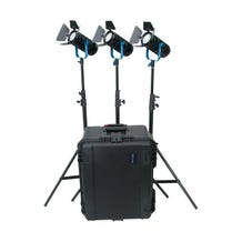 Dracast Boltray 600 Plus LED Bi-Color 3-Light Kit with Hard Travel Case