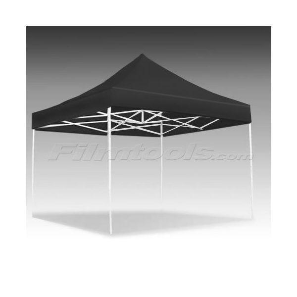 E-Z UP Eclipse 10 x 15' Aluminum Pop-Up Canopy - Black