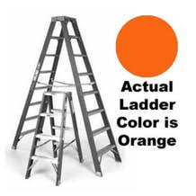 Sunset Ladder Co. F1A04 Single Sided Step Ladder (Various Lengths)