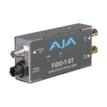 AJA FiDO Single-Channel 3G-SDI to ST Fiber Mini Converter