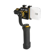 ikan 3-Axis Smartphone Gimbal Stabilizer with GoPro Mount & Extra Battery