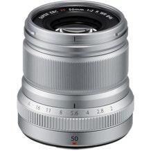 FUJIFILM Super EBC XF 50mm f/2 R WR Lens - Silver