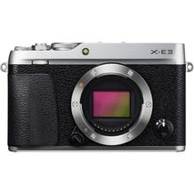 FUJIFILM X-E3 Mirrorless Digital Camera -Silver