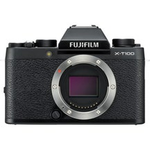 FUJIFILM X-T100 Mirrorless Digital Camera - Black
