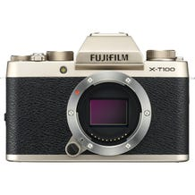 FUJIFILM X-T100 Mirrorless Digital Camera - Champagne Gold