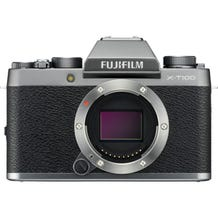 FUJIFILM X-T100 Mirrorless Digital Camera - Dark Silver
