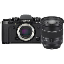 FUJIFILM X-T3 Mirrorless Digital Camera with 16-80mm Lens Kit - Black