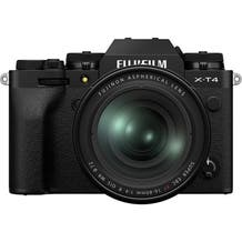 Fujifilm X-T4 Mirrorless Digital Camera with Fujinon Aspherical 16-80mm Lens - Black