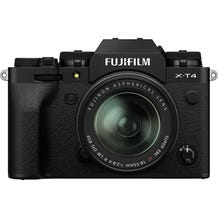 Fujifilm X-T4 Mirrorless Digital Camera with Fujinon Aspherical 18-55mm Lens - Black