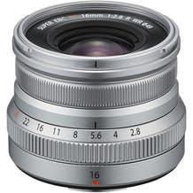 FUJIFILM XF 16mm f/2.8 R WR Lens - Silver