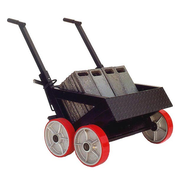 """Backstage Equipment """"Super Mario"""" Lead Weight Cart G-14"""