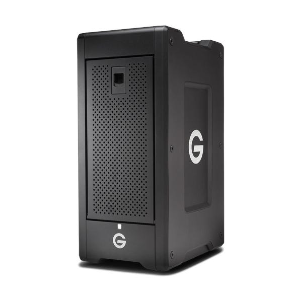 G-Technology 36TB G-SPEED Shuttle XL 8-Bay Thunderbolt 3 RAID Array with Two ev Bay Adapters