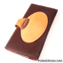 GoldFold Leather Call Sheet & Shooting Schedule Wallet - Ponderosa Oak