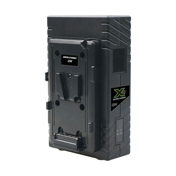 Core SWX 2-Bay Vertical V-Mount Battery Charger