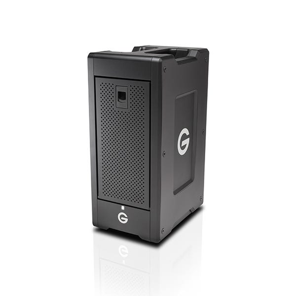 G-Technology 18TB G-SPEED Shuttle XL 8-Bay Thunderbolt 2 RAID Array Drive w/ Two ev Bay Adapters